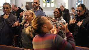Deaf Christians often struggle to hear God's word, but some find meaning in  the richness of who they are